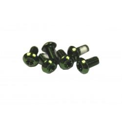Lekkie śruby do tarczy - torx - zielone - 12gram