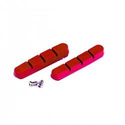 Czerwone okładziny CLARKS do hamulców szosowych CP202