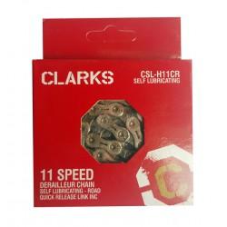 Łańcuch rowerowy CLARKS CSL-H11CR 11rz 116 Samosmarujący